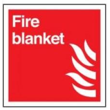 Πινακίδα αυτοφωτιζόμενη PVC με σήμα  Πυρίμαχη Κουβέρτα