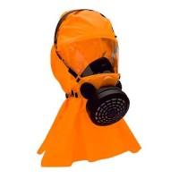 Μάσκα διαφυγής  με φίλτρο ABEK και κουκούλα  από PVC