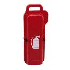 Θήκη Πλαστική Μεταφοράς  και Προστασίας Πυροσβεστήρα 2Kg/2Lt