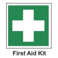Πινακίδα PVC Aυτοφωτιζόμενη με σήμα '' Φαρμακείο Πρώτων βοηθειών''